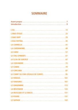 22 épices pour préserver la santé 1