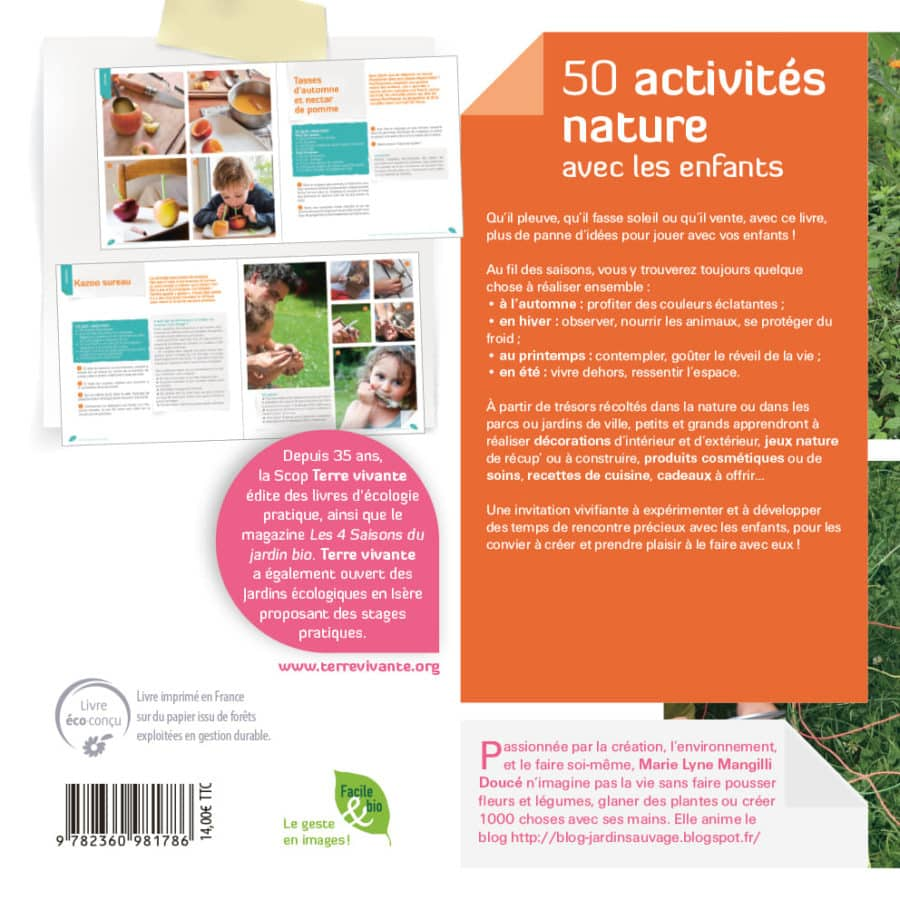 50 activités nature avec les enfants 1