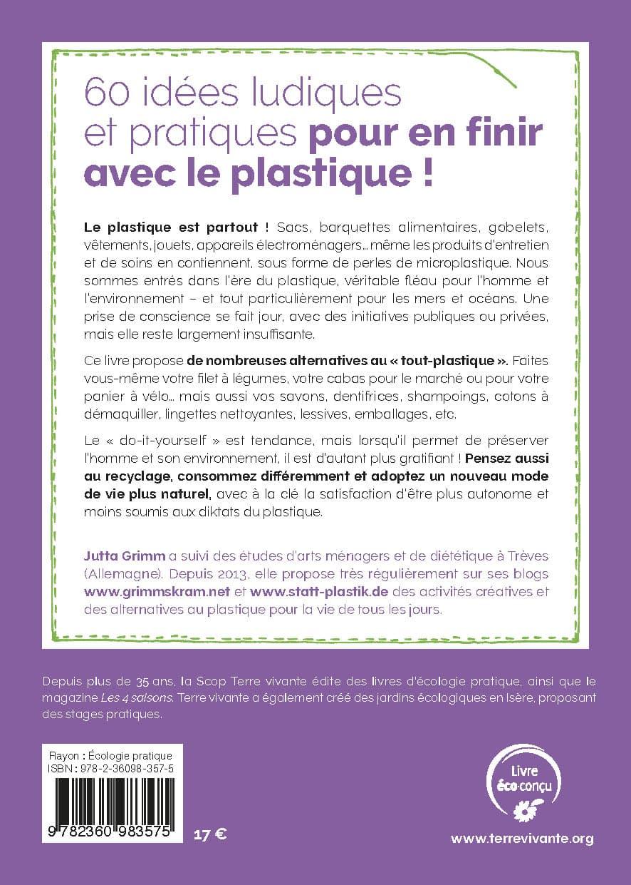PLAST – 60 idées ludiques et pratiques pour en finir avec le plastique – descriptif