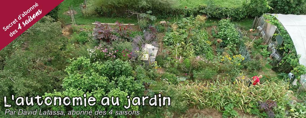 Bilan de l'année au jardin