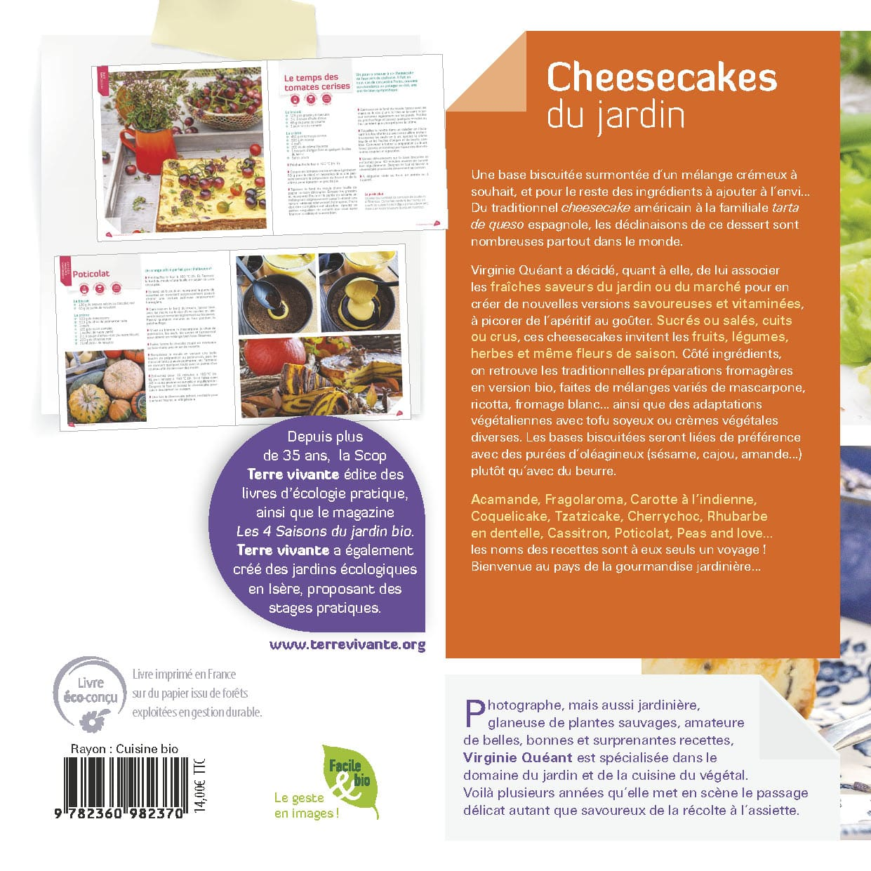 Cheesecakes du jardin 1