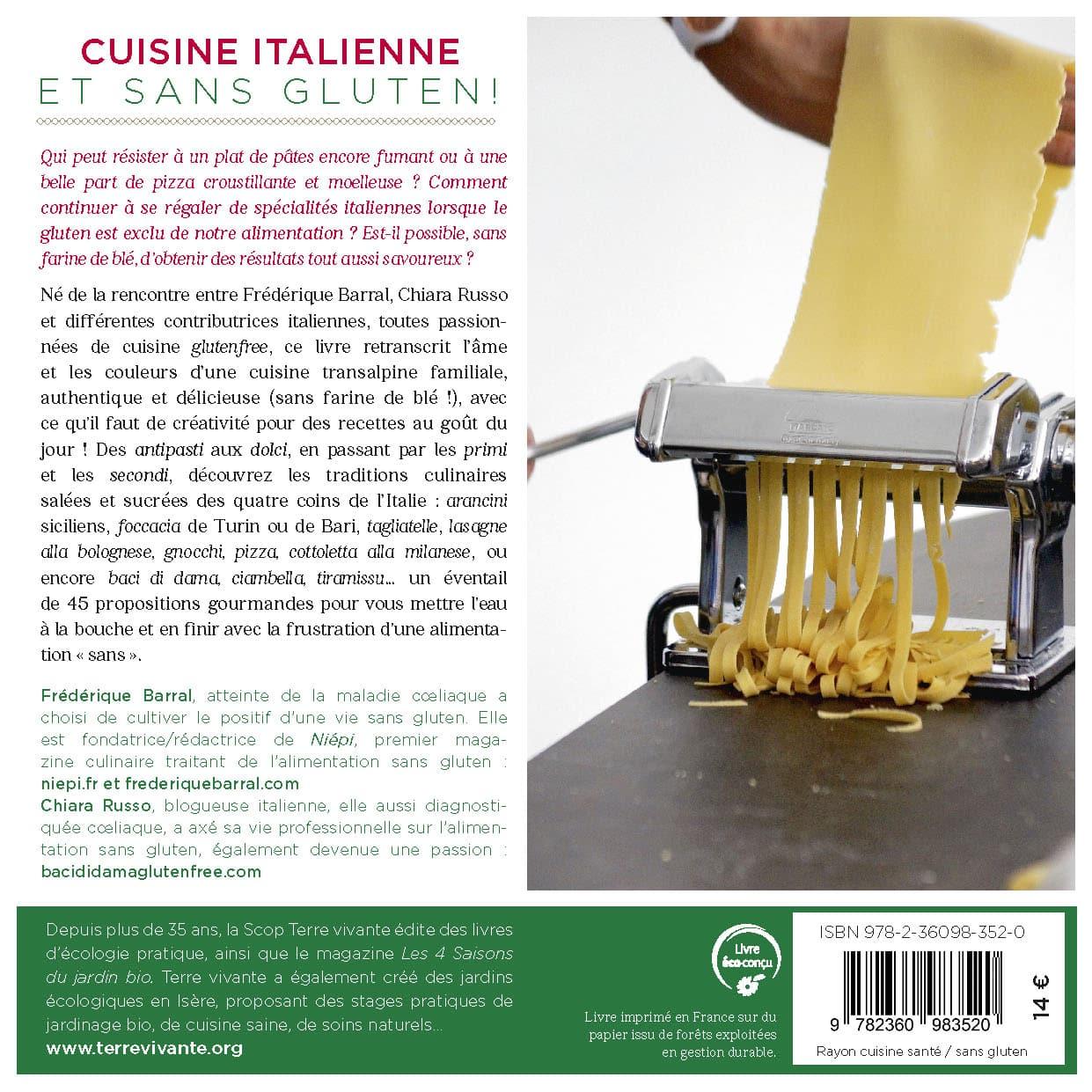 Cuisine italienne et sans gluten ! 1