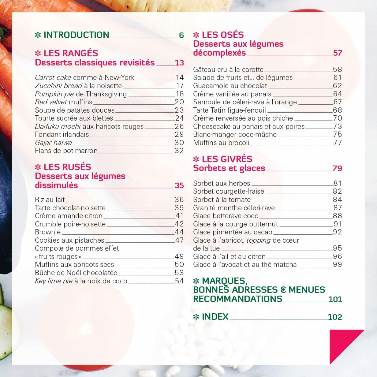 Des légumes en dessert ! 2