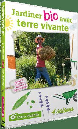 DVD Jardiner bio avec Terre vivante saison 2 – 2018 – 2019