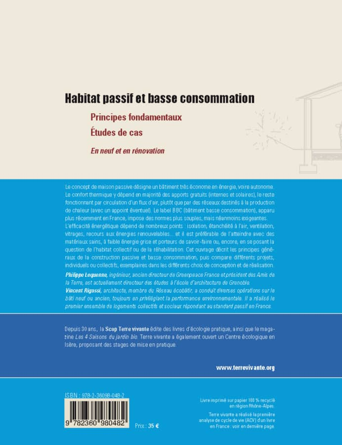 Habitat passif et basse consommation 1