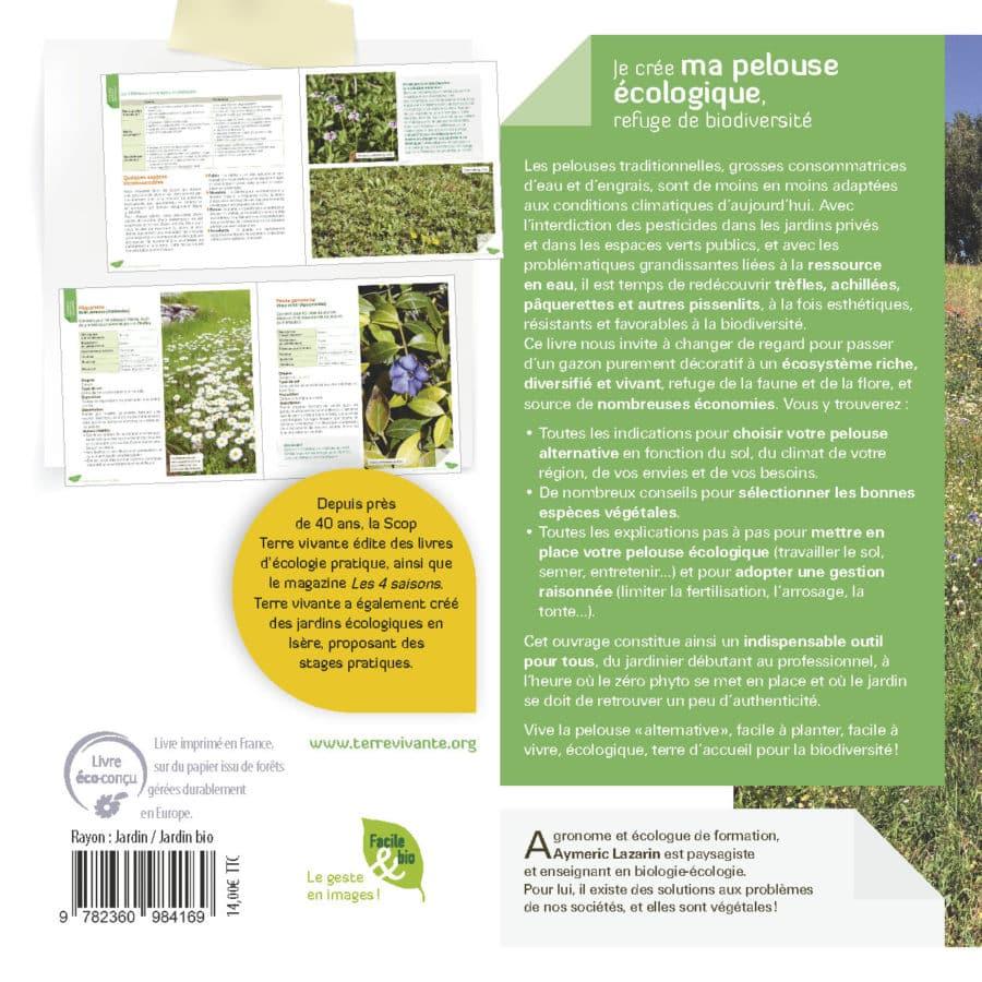 Je crée ma pelouse écologique, refuge de biodiversité 1