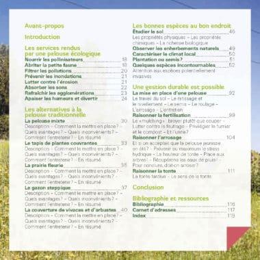 Je crée ma pelouse écologique, refuge de biodiversité 2