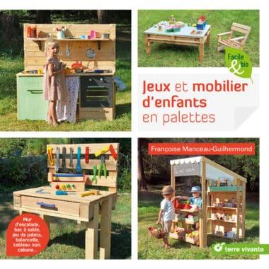 Jeux et mobilier d'enfants en palettes