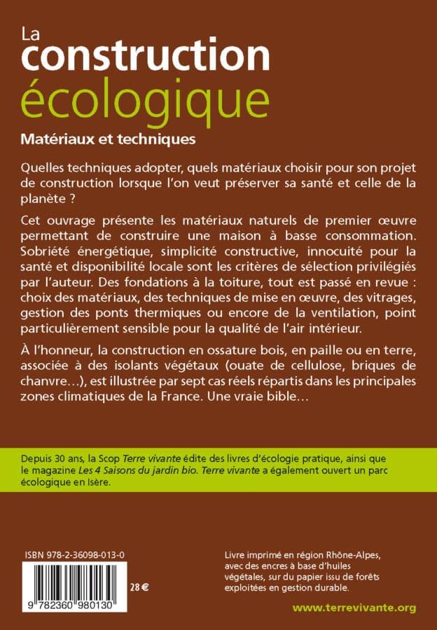 La construction écologique 1