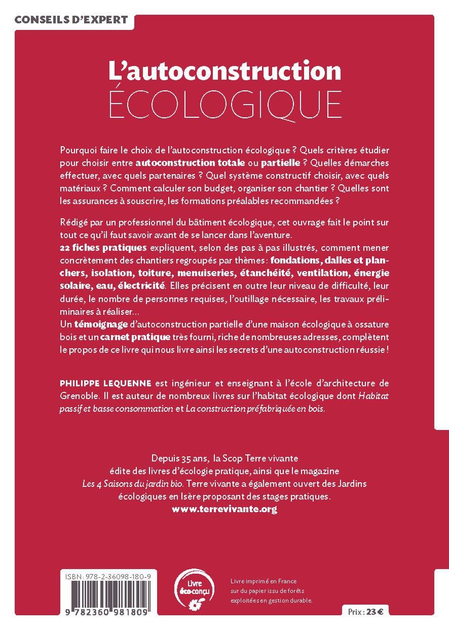 L'autoconstruction écologique 1