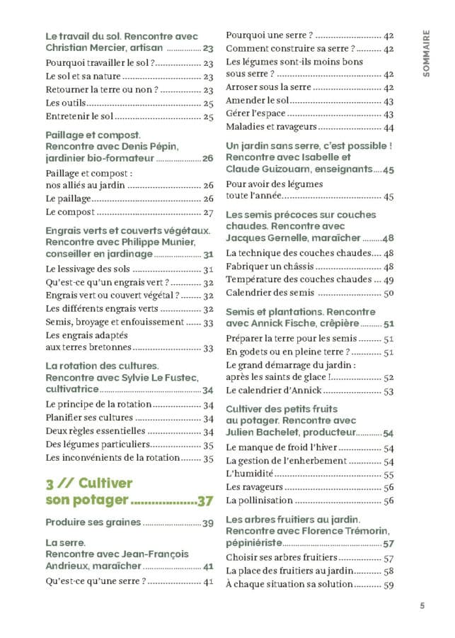 Le guide du potager bio en Bretagne - nouvelle édition 3