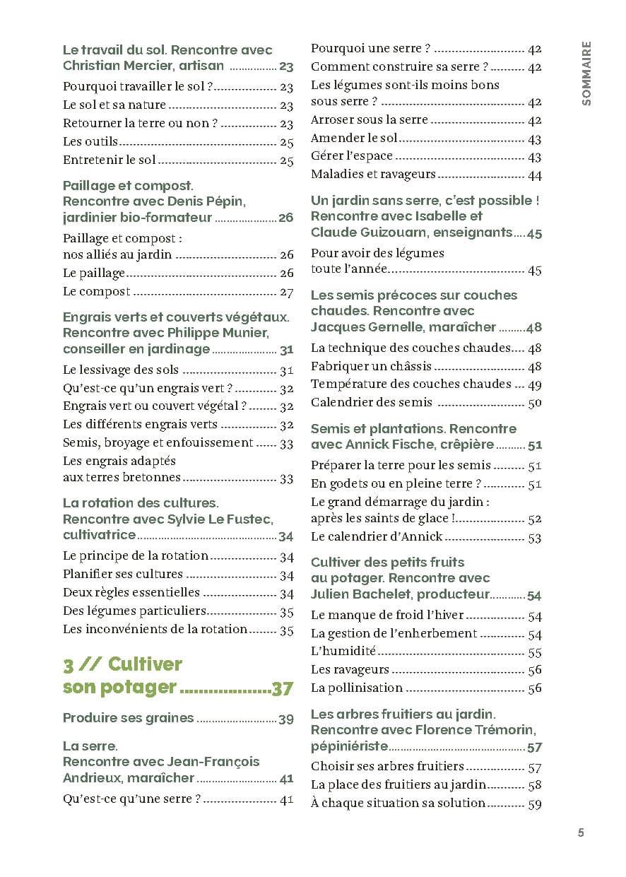 Le guide du potager bio en Bretagne – nouvelle édition 3