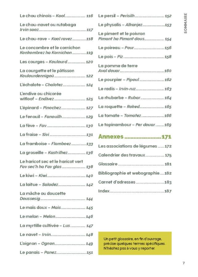 Le guide du potager bio en Bretagne - nouvelle édition 5