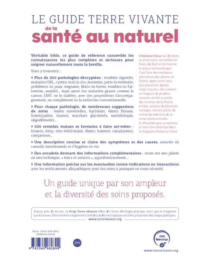 Le guide Terre vivante de la santé au naturel 1