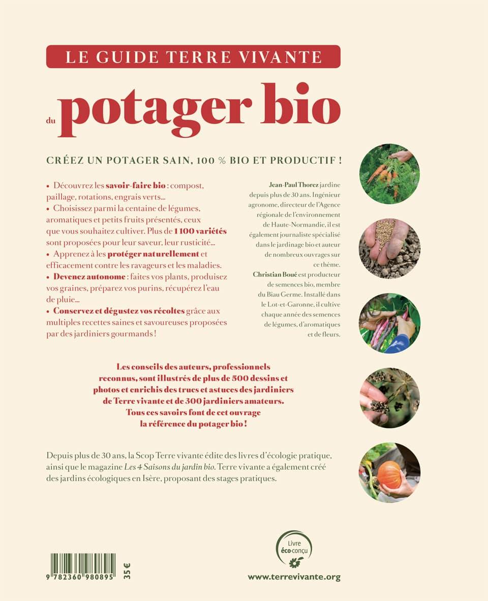 Le guide Terre vivante du potager bio 1