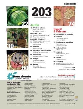 Les Quatre Saisons n°203 1
