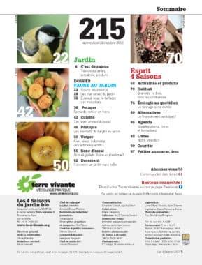 Les Quatre Saisons n°215 1