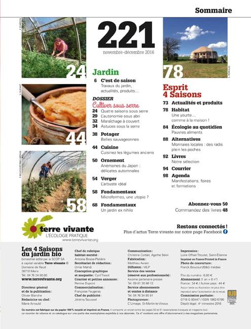 Les Quatre Saisons n°221 1