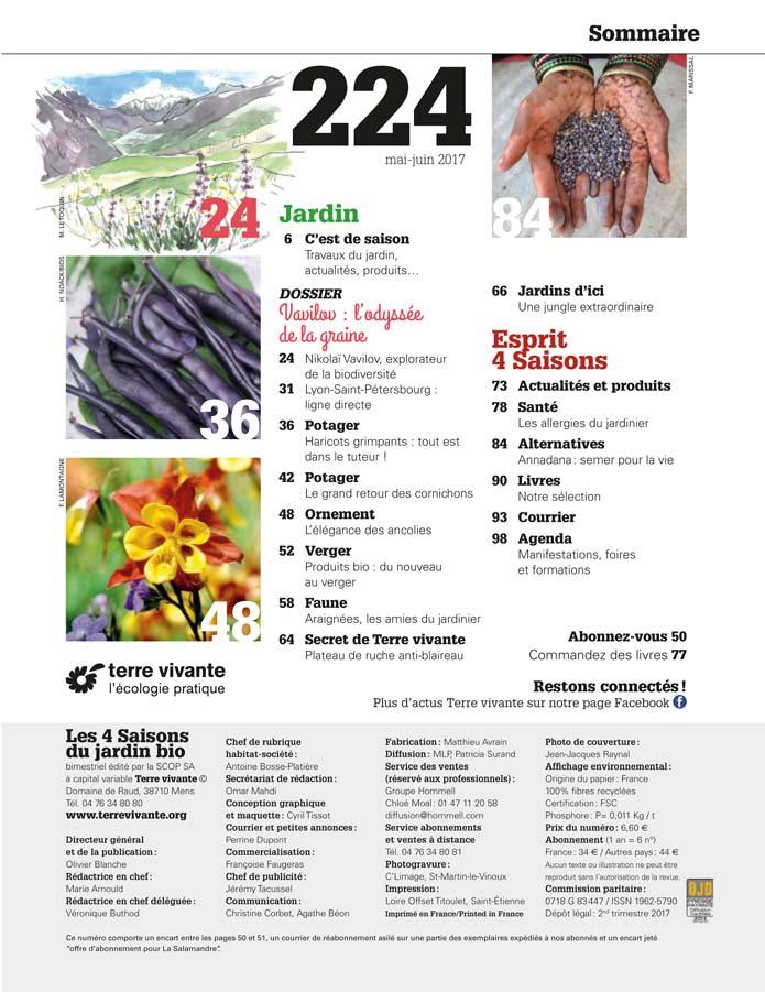 Les Quatre Saisons n°224 1