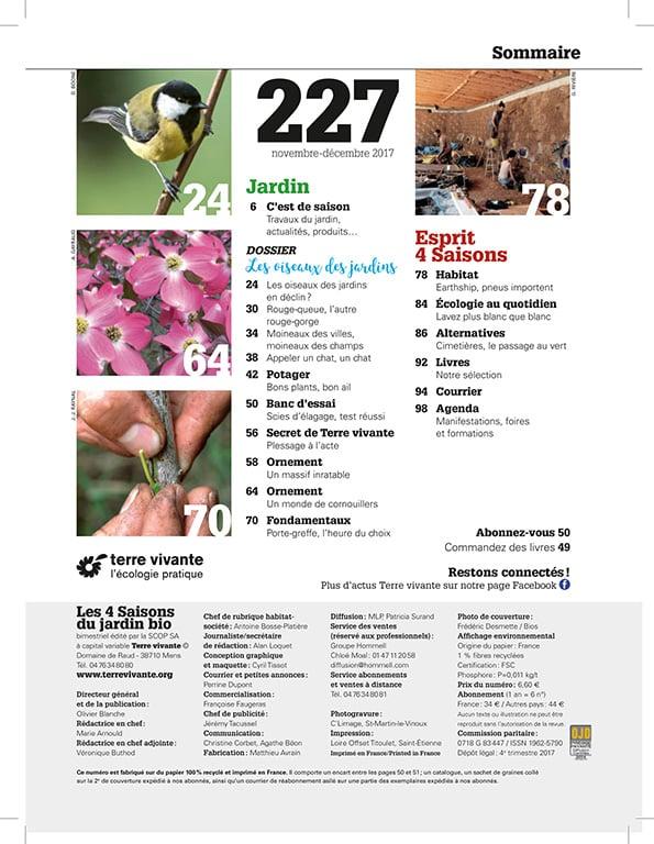 Les Quatre Saisons n°227 1
