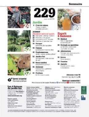 Les Quatre Saisons n°229 1