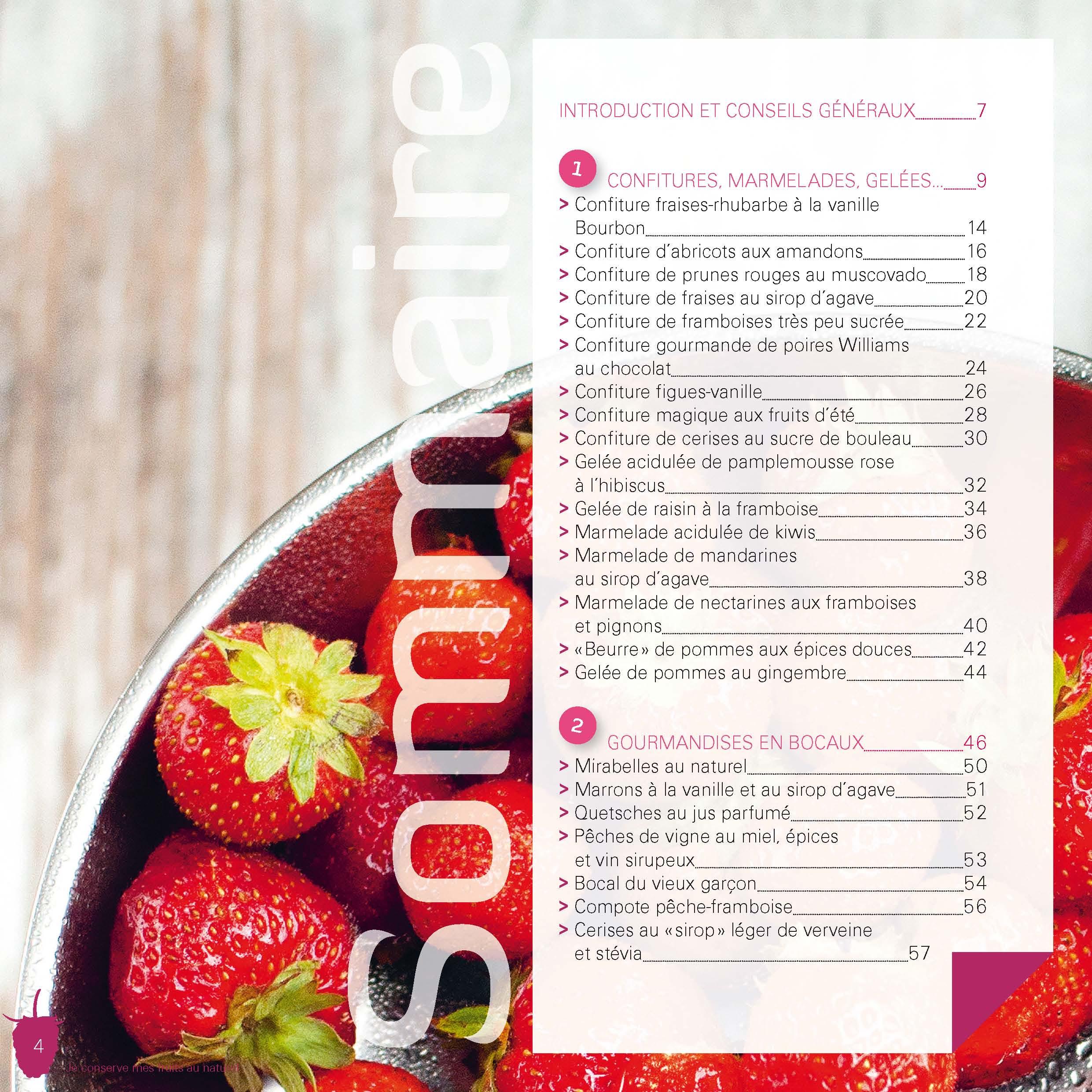 Mes confitures, compotes, fruits séchés, sirops… 2