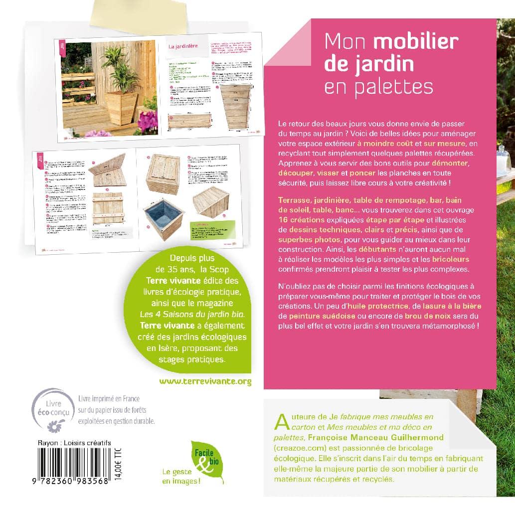 Mon mobilier de jardin en palettes 1
