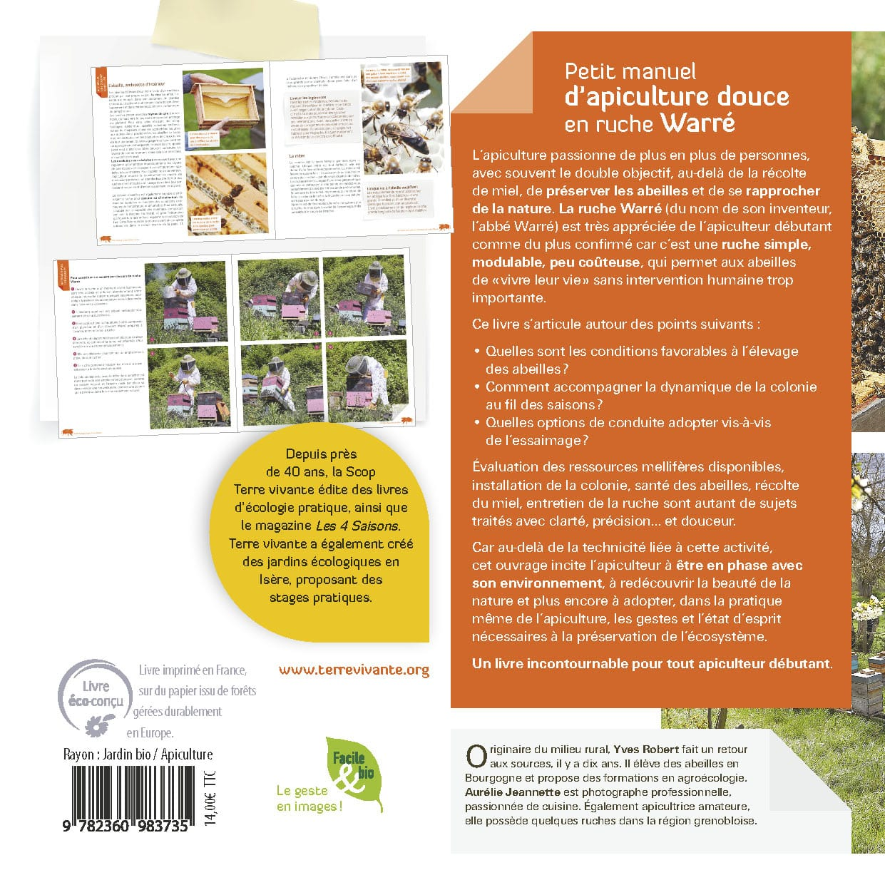 Petit manuel d'apiculture douce en ruche Warré 1
