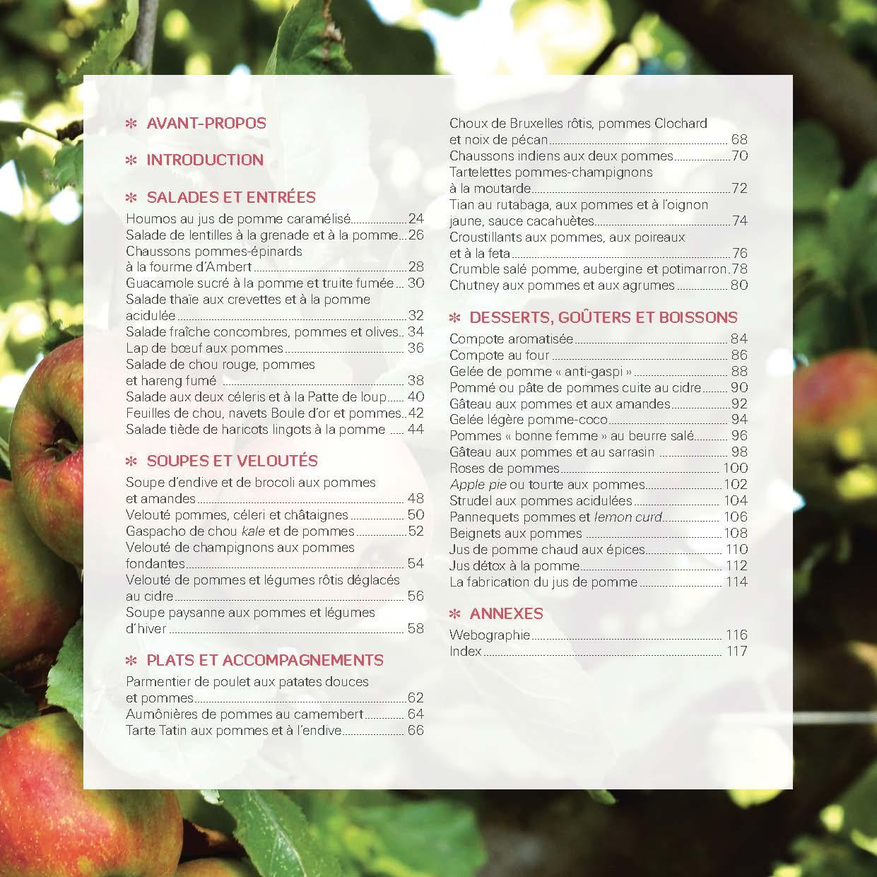 Pommes ! Mes meilleures recettes 2