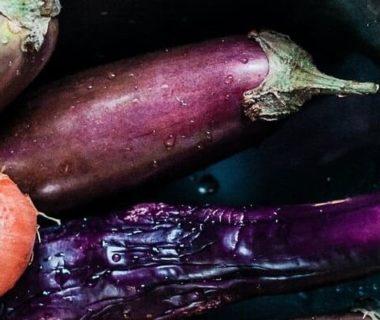 Illustration d'une aubergine