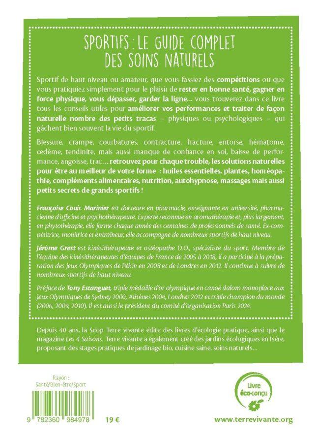 Sportifs : Le guide complet des soins naturels 1