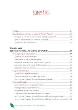 Sportifs : Le guide complet des soins naturels 2