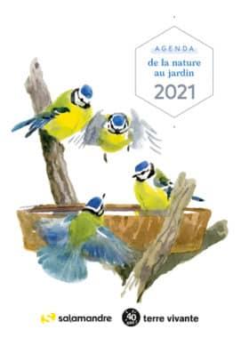 Agenda de la nature au jardin 2021