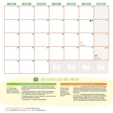 Le calendrier 2021 - Cette année je suis zéro déchet 3