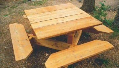 Comment construire une table de jardin en bois ? 4