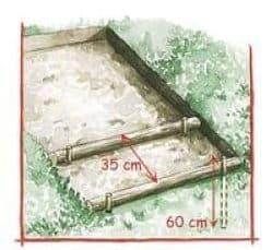 Comment construire un escalier de jardin en rondins de bois ? 2