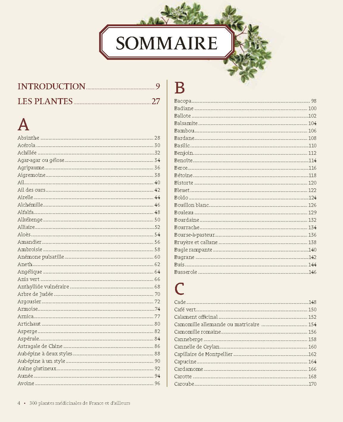 300 plantes médicinales de France et d'ailleurs 2