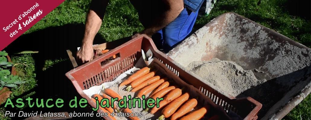 Conserver les légumes en silo pour l'hiver 1