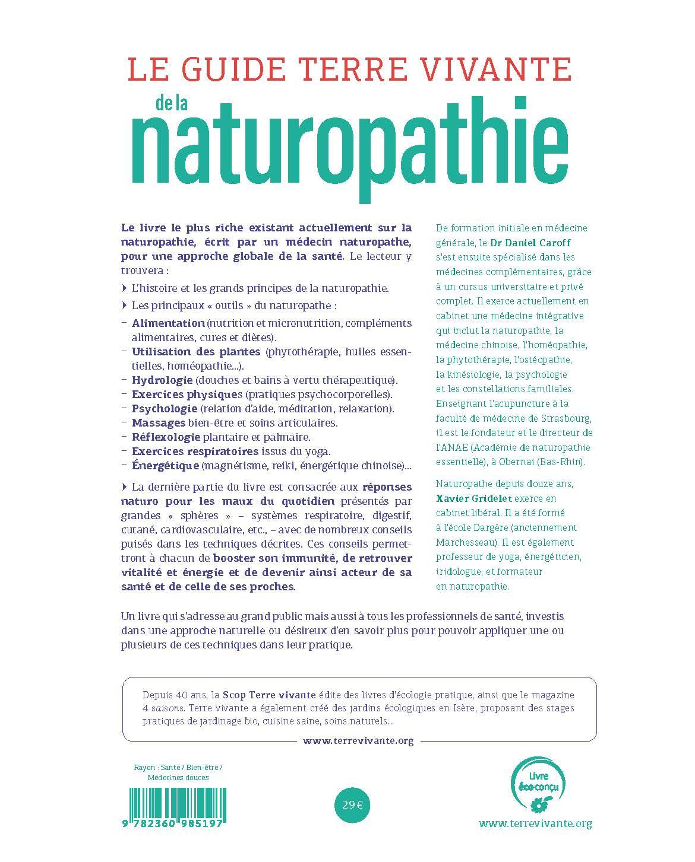 Le Guide Terre vivante de la naturopathie 1