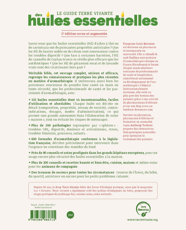 Le guide Terre vivante des huiles essentielles – Nouvelle édition 1