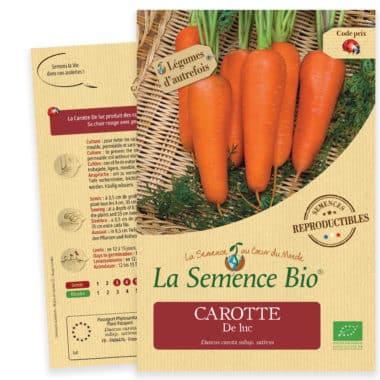 Graines Carotte De luc bio - La semence bio