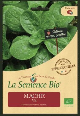Graines Mâche Vit Bio - La semence bio