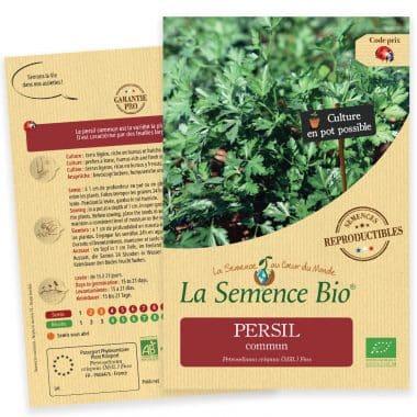 Graines Persil commun bio - La semence bio