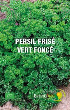 Graines Persil frisé vert foncé bio - Essembio