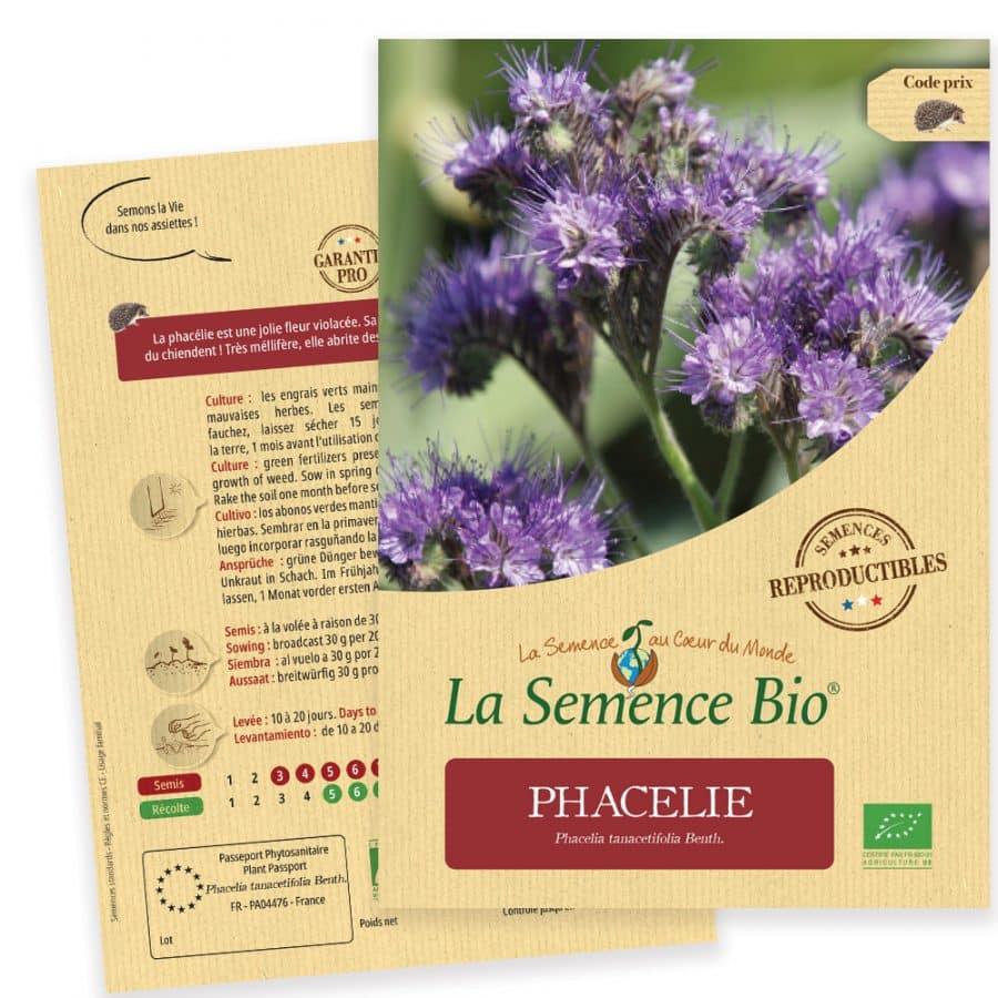 Graines Phacélie bio - La semence bio 1