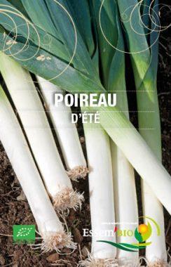 Graines Poireau d'été bio - Essembio