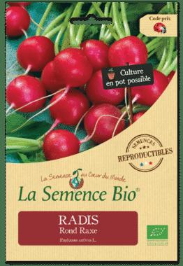 Graines Radis Rond Raxe Bio - La semence bio