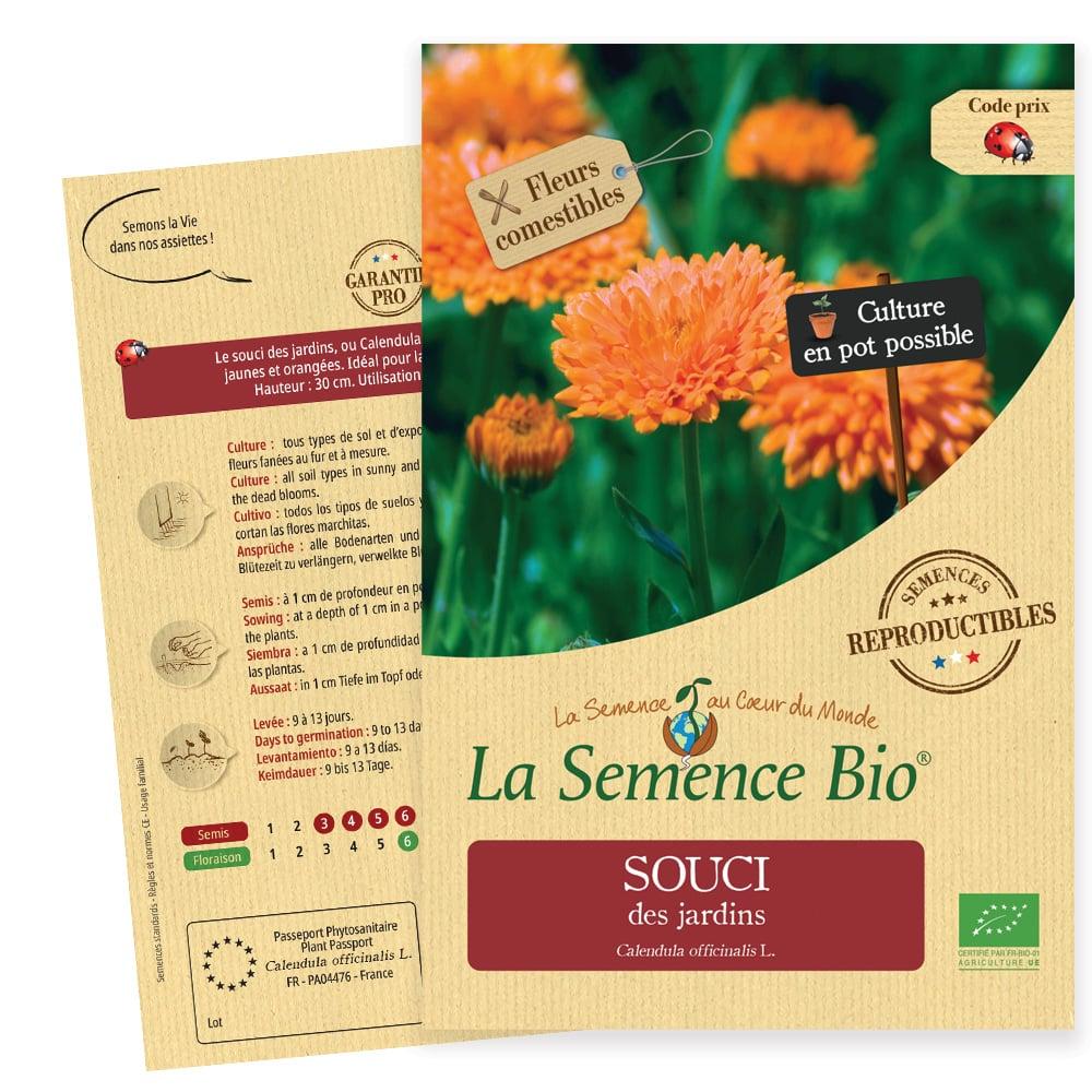 Graines Souci des jardins bio – La semence bio 1