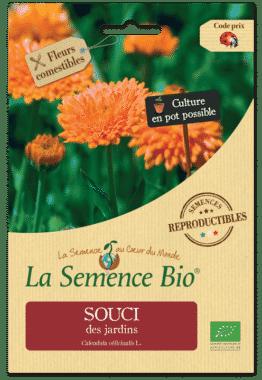 Graines Souci des jardins bio - La semence bio