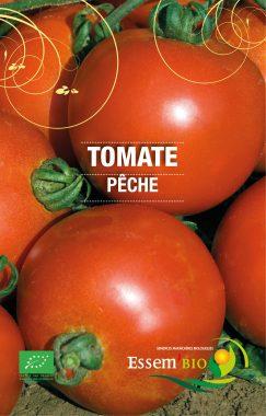 Graines Tomate pêche bio - Essembio